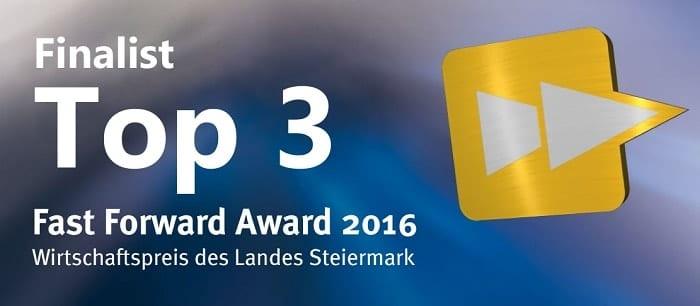Fast Forward Award 2016